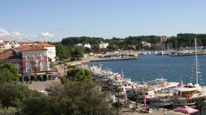 Porec, Kroatien - am Hafen - goodstuff AlpeAdria - © Gustav Schatzmayr