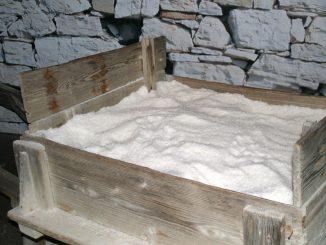 Salz aus Piran, Slowenien - goodstuff AlpeAdria - © Gustav Schatzmayr