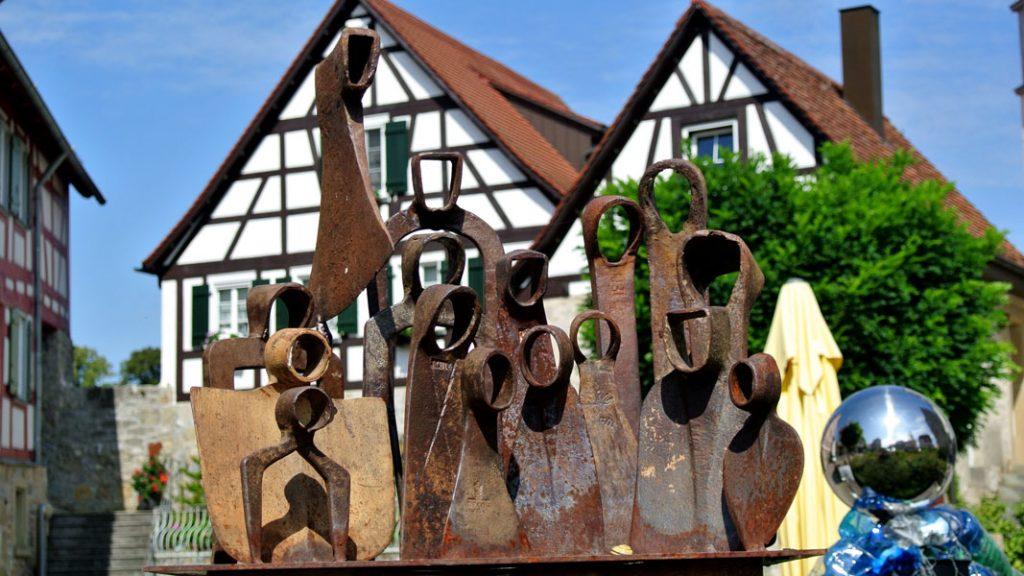 Vellberg - Skulpturenweg - goodstuff AlpeAdria