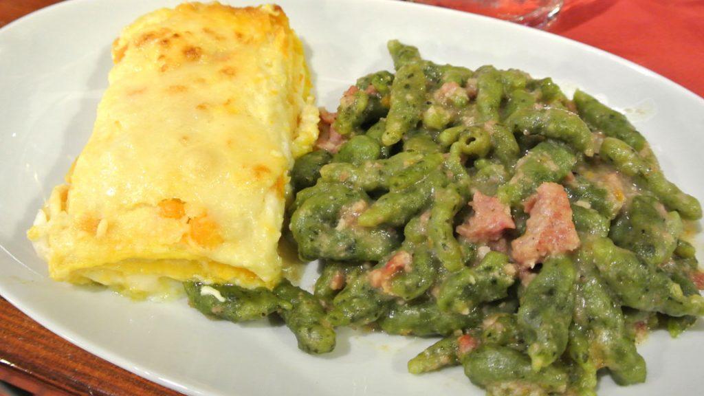 Kürbislasagne und Spätzle mit Salsicce - goodstuff AlpeAdria