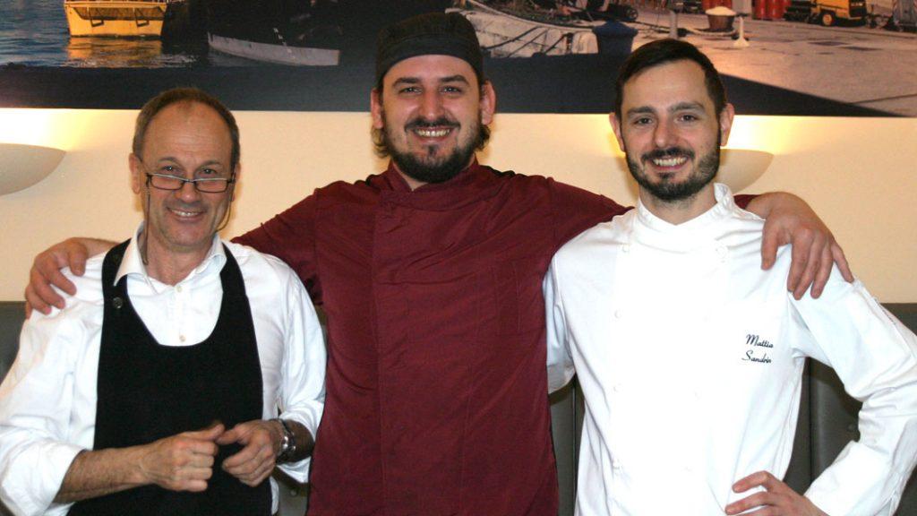 Ristorante Scabar - Giorgio Scabar, Mladan Birisic & Mattia Sandrin - goodstuff AlpeAdria