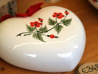 Ceramiche Lazzara - ein Herz - goodstuff AlpeAdria
