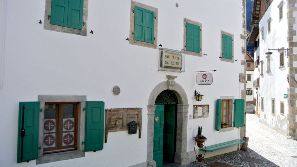 Osteria Inn Pik in Pesariis, Italien - goodstuff AlpeAdria