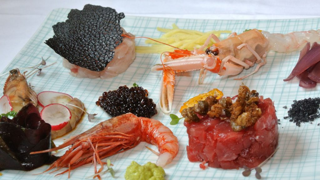 Degustazione ai Antipasti crudi - goodstuff AlpeAdria