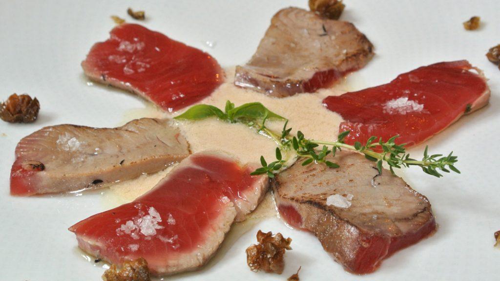 Tonno tonnato - Tavernetta all'Androna - goodstuff AlpeAdria