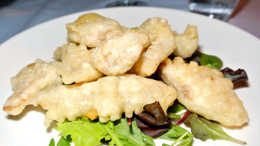 Filetti di Pesce locale in Tempura - goodstuff AlpeAdria
