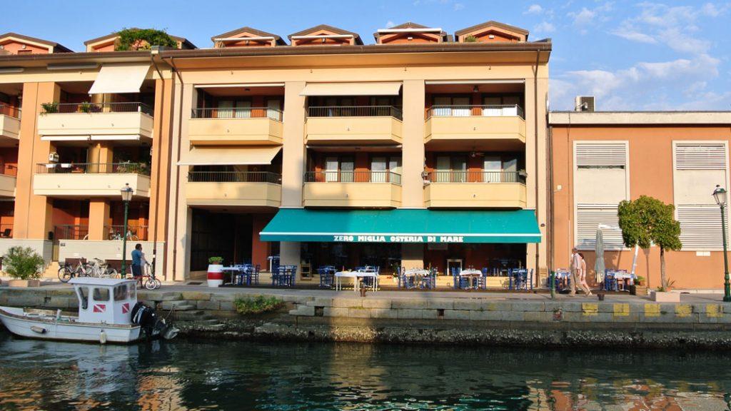 Zero Miglia Osteria di Mare in Grado, Italien - goodstuff AlpeAdria