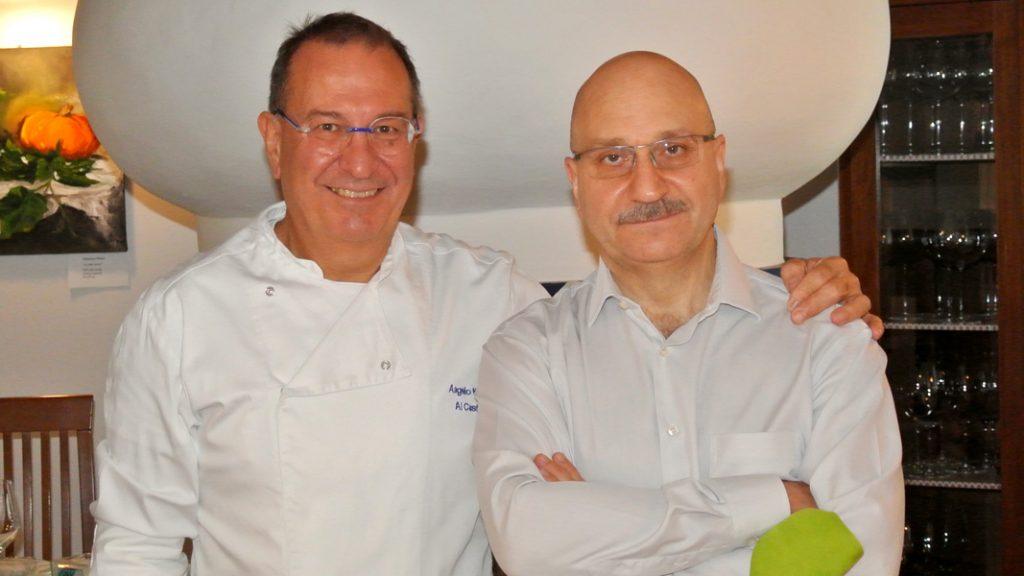 Angelo und Stefanao Negrini - Ristorante Al Castello - goodstuff AlpeAdria