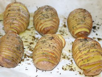 Hasselback Potatoes - goodstuff AlpeAdria