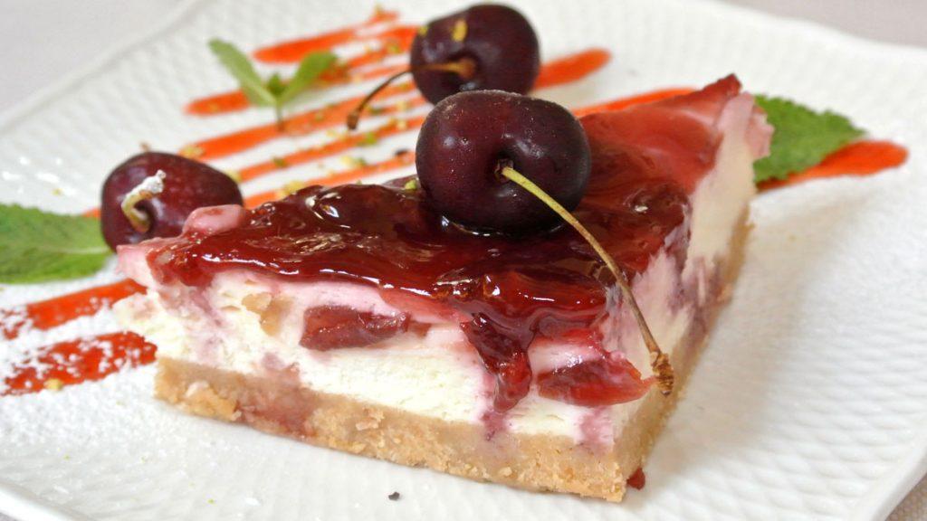 Cheesecake con Marmellata di Ciliege - goodstuff AlpeAdria