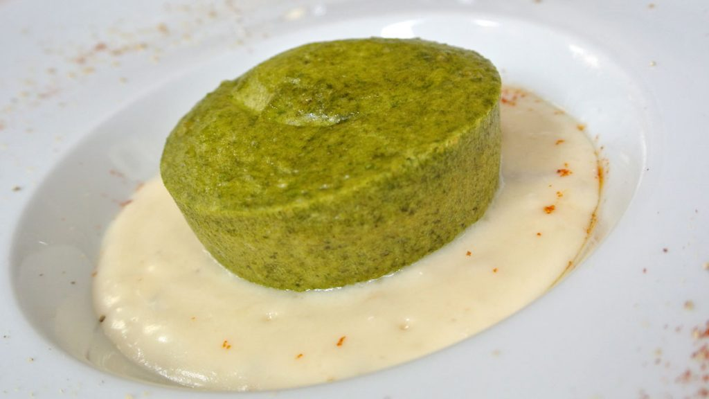 Flan di Sclopit con fonduta al Grogonzola - goodstuff AlpeAdria