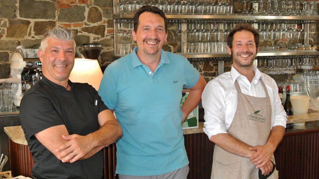 Paolo Migliore, Marco Boccotti und Roger Dassi - goodstuff AlpeAdria