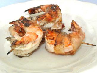 Shrimps mit Lardo - goodstuff AlpeAdria