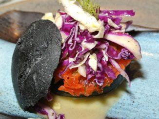 Burger nero im Grani di Pepe - goodstuff AlpeAdria